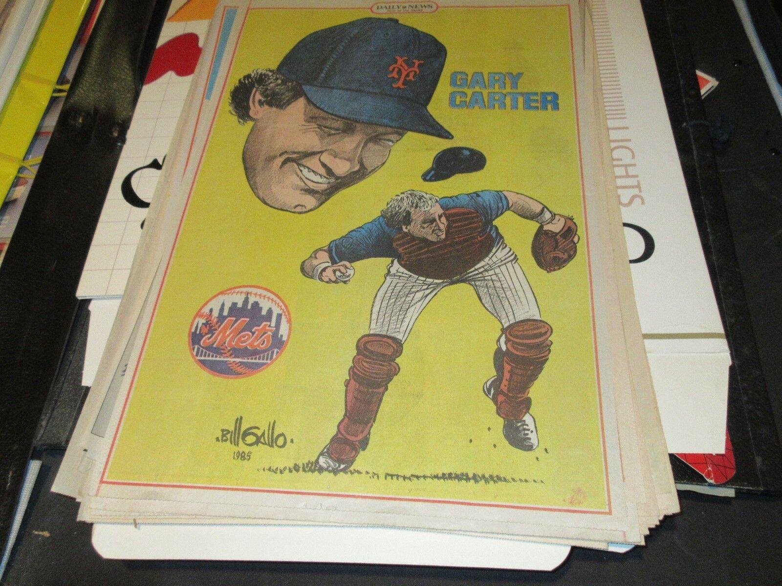 Gary Carter , New York Mets , New York Daily News Comic