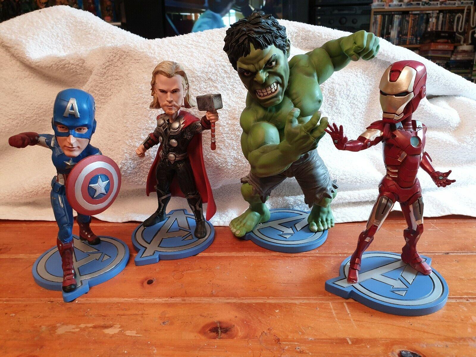 Avengers SET DI 4 headknockers miniature
