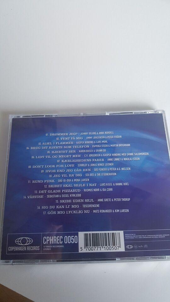 Various / Diverse: CD : De største danske duetter, rock