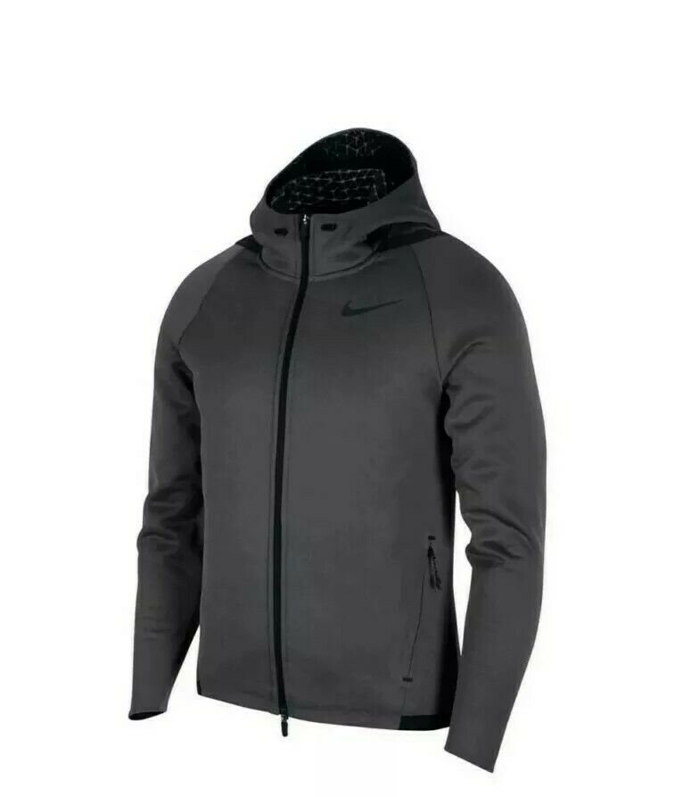 Nike Therma Sphere MX Anthracite Grey Men's Hoodie Jacket 932036 060 New Size M