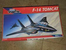 Revell Monogram 1 100/Escala Snaptite F-14/Tomcat Modelo Kit