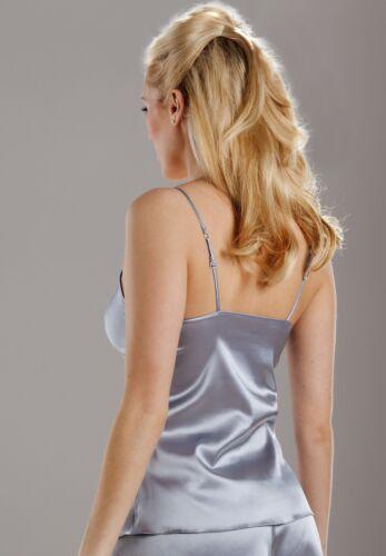 Sulis Silk Amalie stretch silk camisole cami top made in England