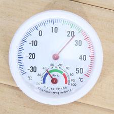 MIni Indoor Outdoor Wet Hygrometer Humidity Thermometer Temp Temperature Meter
