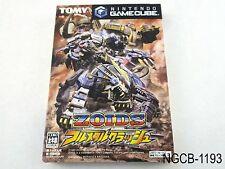 Zoids Fullmetal Crash Japanese Import Nintendo Gamecube NGC GC Japan US Seller B