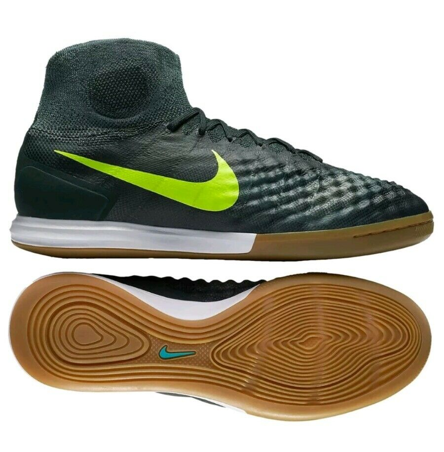 NIKE MAGISTAX PROXIMO II IC INDOOR SOCCER MEN SIZE 10.5 NEW WITH BOX (no box top