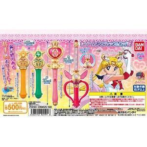 Bandai Sailor Moon Wands Gashapon Can Vol 2 Stick Rod & Transformation Wands