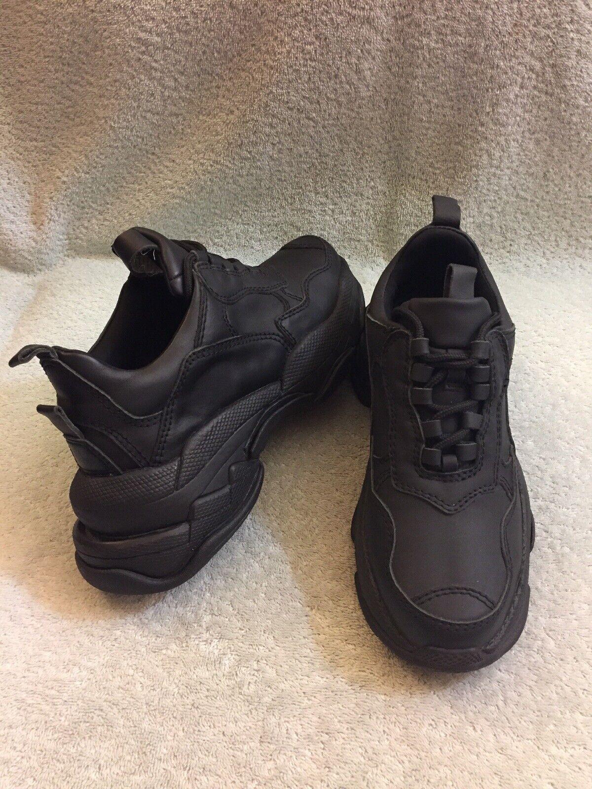 Jeffrey campbell scarpe da ginnastica ginnastica ginnastica  good condition donna's Dimensione 7.5 nero ab6cc9