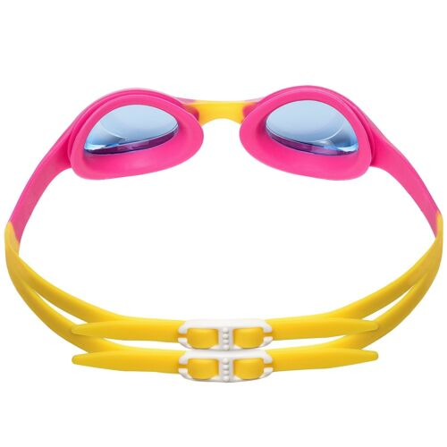 Swimming Goggles For Kids Age 4-12 Perfect Fit No Leak Nose /& Ear Plugs Children