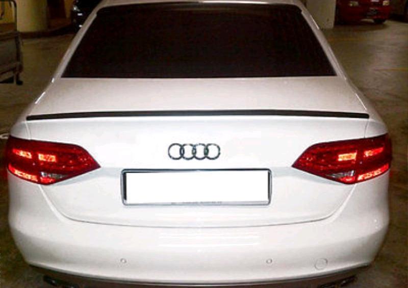 Audi A4 Boot spoilers