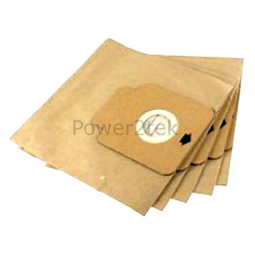 5 x H58 H64 poussière sacs pour hoover TW1750 001 TW1750 011 TW1750 019 vide H63