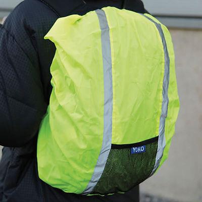 Yoko High Visibility Waterproof Reflective Cover For Rucksack Backpack Viz Vis