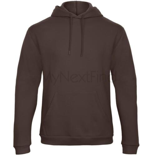 B/&C Collection Mens Womens 50//50 Hoodie Hooded Sweatshirt