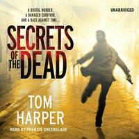 Book/audiobook Cd Tom Harper Fiction Novel Thriller Secrets Of The Dead