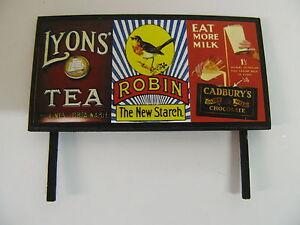 Model Railway Billboard N Gauge OO Gauge /& O Gauge Trackside Signs Lyons Tea