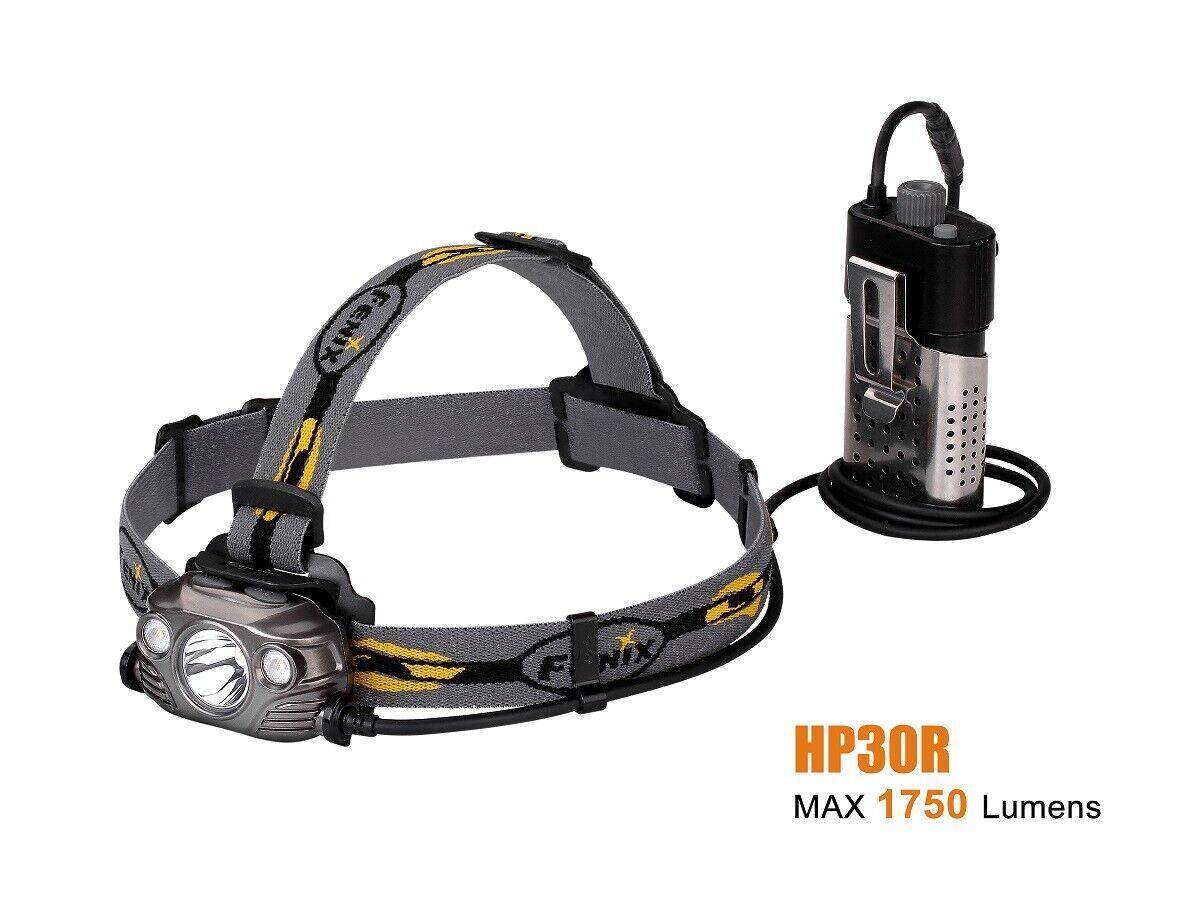 Fenix hp30r de alto rendimiento cabeza lámpara frente casco lámpara lámpara USB-carga