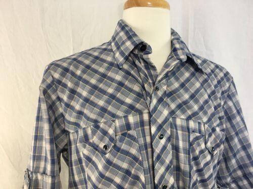 Miller Miller Miller Pearl Snap Shirt Vintage Siz… - image 1