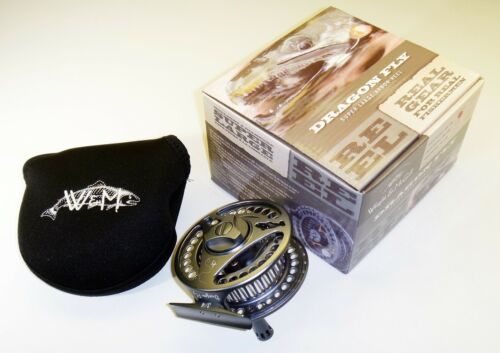 Wright /& McGill Dragon Fly Super Large Arbor Size 3//4 Freshwater Fly Reel /& Case
