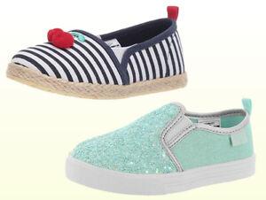 Toddler Girls Shoes OshKosh B/'Gosh Girl/'s Slip On Loafers Navy//Pink