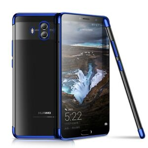 Phone-Case-Cover-For-Huawei-Mate-10-Lite-Transparent-Transparent-Blau