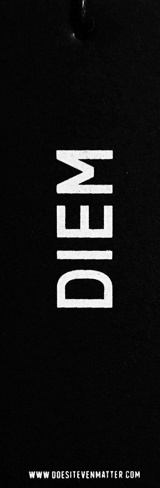 """DIEM """"Don't Front"""" men's crewneck sweatshirt"""