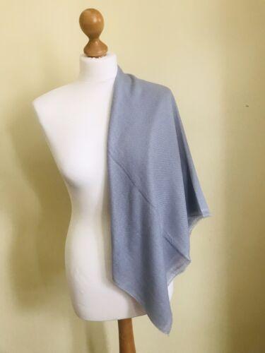 Stole HandMade in Nepal Light Grey Shawl 100/% Premium Cashmere Pashmina Scarf