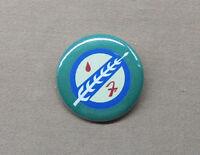 "Star Wars Boba Fett Mandalorian Insignia Button 1.25"" Pin Badge Logo SciFi Lucas"