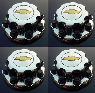 """2000 - 2008 Chevy Silverado 2500 16"""" 8 LUG WHEEL CHROME hub caps"""