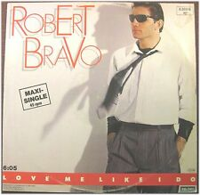 Robert Bravo, Love Me Like I Do, g/vg, maxi single PE (8235)