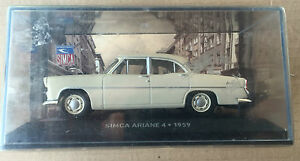 DIE-CAST-034-SIMCA-ARIANE-4-1959-034-SIMCA-COLLECTION-SCALA-1-43