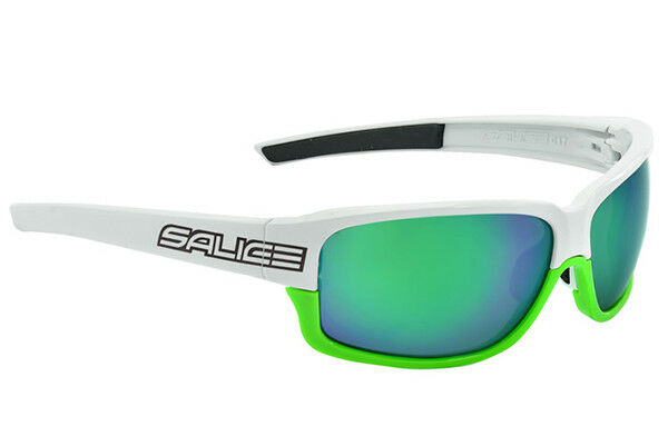 GLASSES SALICE Mod.017RW WHITE-Green Lens green GLASSES salice 017RW WHITE-GRE