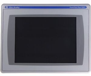 Details about Allen Bradley 2711P-T12C4D9 PanelView Plus 6 1250 Touchscreen  512 MB D/C #2