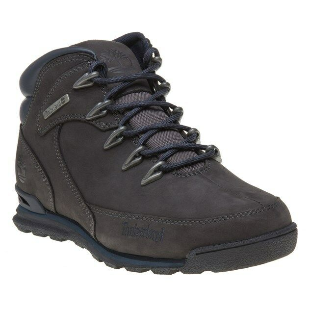 New Mens Timberland grau Euro Rock Hiker Nubuck Stiefel Lace Up    | Neues Design