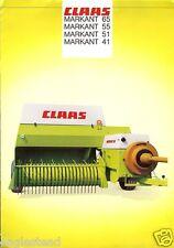 claas baler markant 52 55 65 operators manual ebay rh ebay com Markant Sofa claas markant 65 specifications