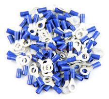Metra Install Bay HSBRT8 Pack Of 100 16//14 Ga #8 Blue Heat Shrink Ring Terminal
