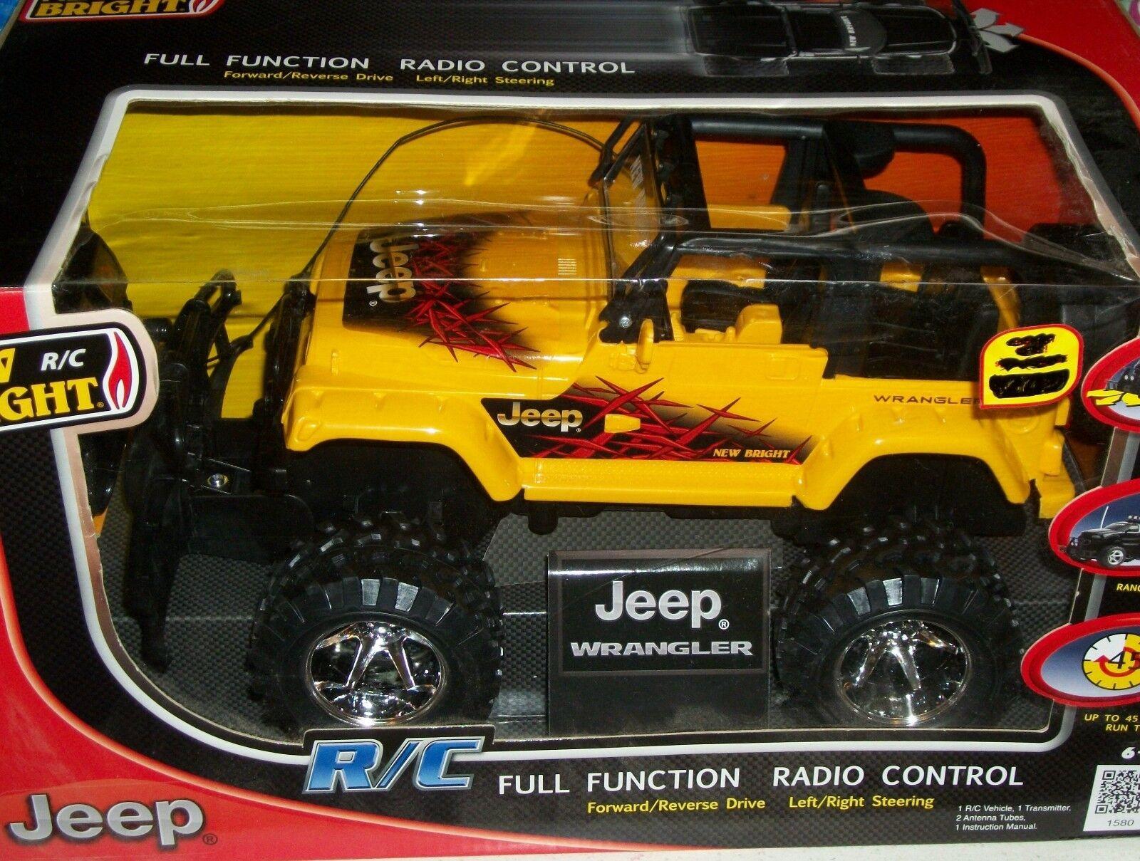 Jeep Wrangle R C Full Function Radio Control car Remote Remote Remote toy car Xmas vehicle toy bdb007