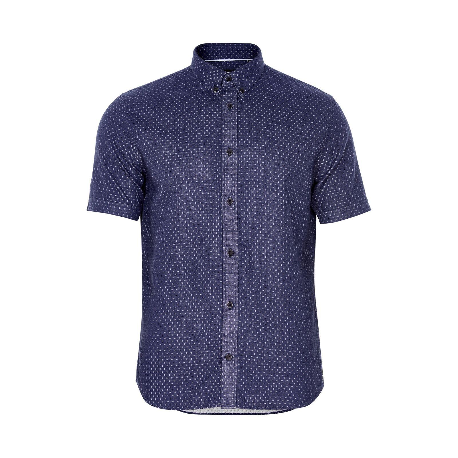 Matinique Trostol BD bluee Dot Shirt Navy Blazer - Large NEW AW17