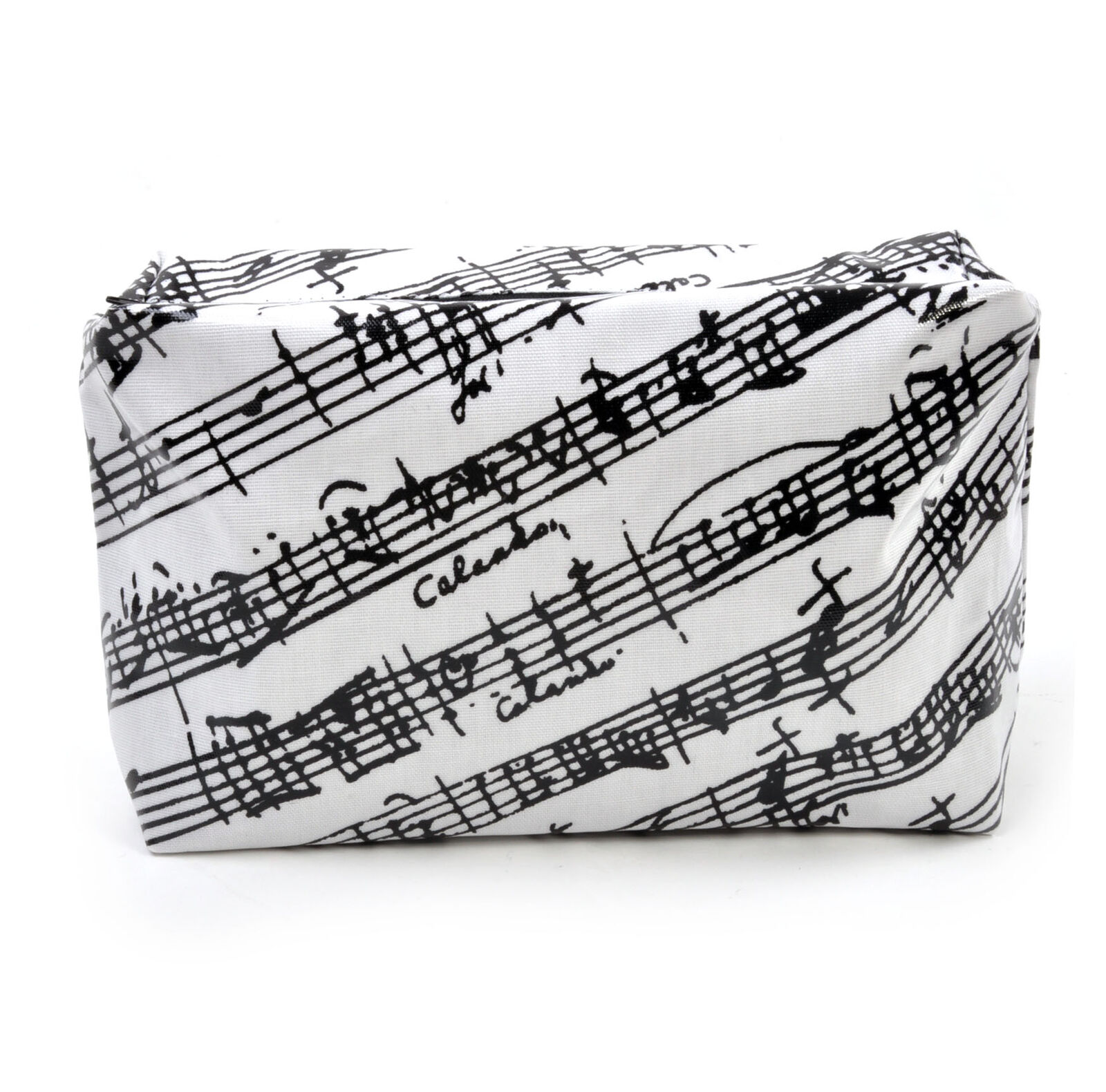 Musique Manuscrit Noir Noir Noir & Blanc Washbag/Make Up Bag 0549f2