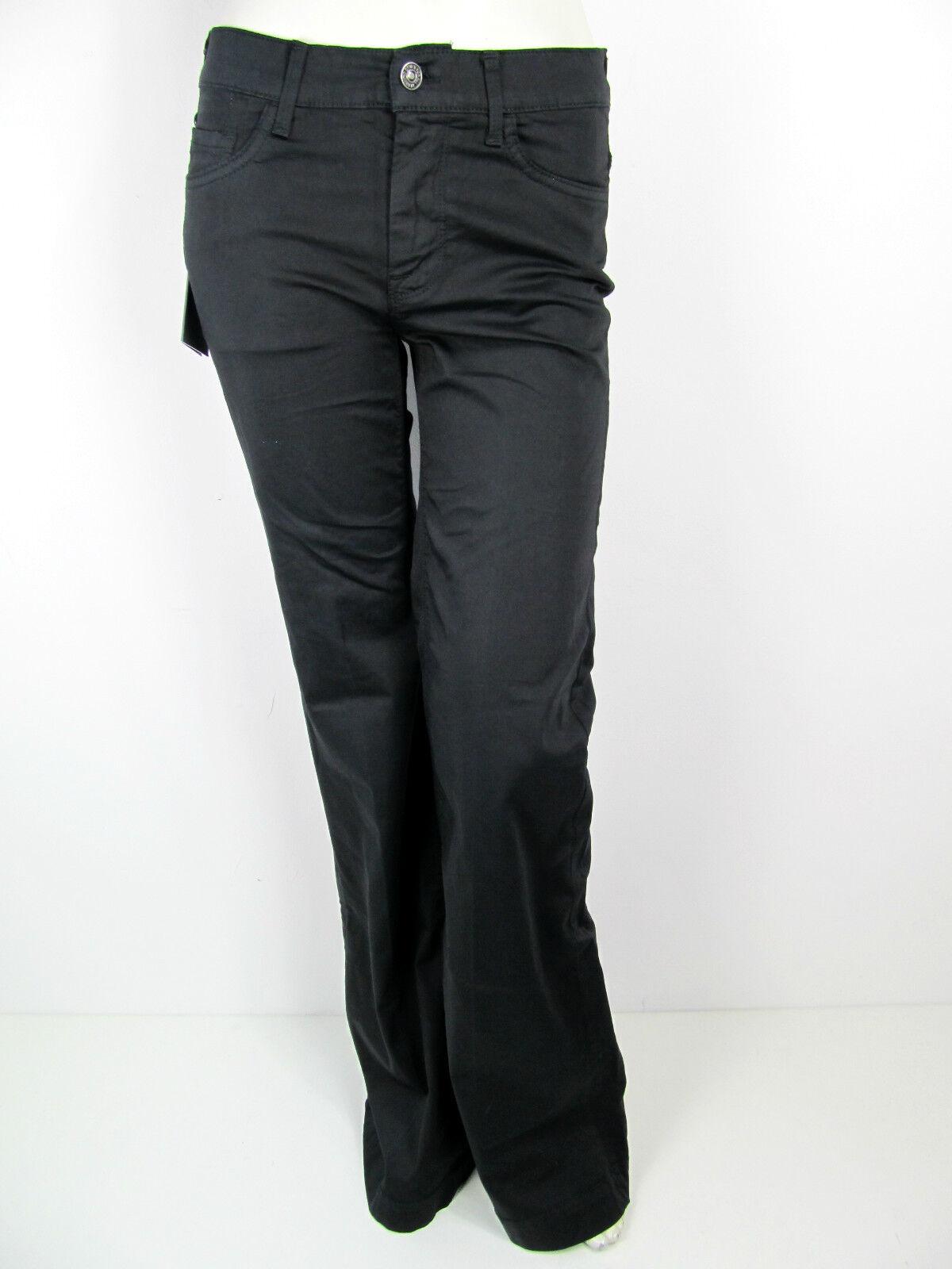 Seven For All Mankind SFAM 7fam Ginger Jeans Pants PANTALON schwarz 27 28 29 30