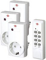 Brennenstuhl RCS 1000 N Comfort - Funk Steckdosen Schalter Set & Fernbedienung