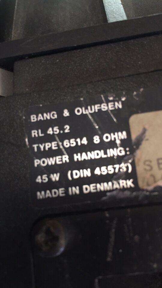 Højttaler, Bang & Olufsen, RL 45. 2