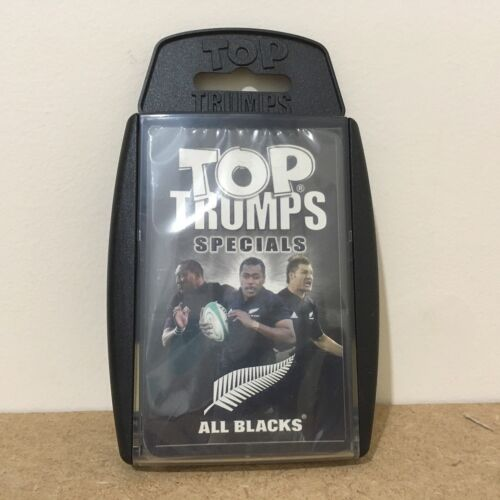 New and Sealed Winning Moves Top Trumps All Blacks Specials