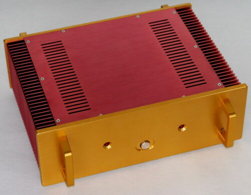 WA115 All aluminum amplifier chassis AMP Enclosure Class A amplifier case