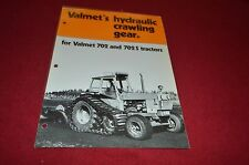 Valmet Hydraulic Crawling Gear For 702 702S Tractor Dealer's Brochure DCPA2
