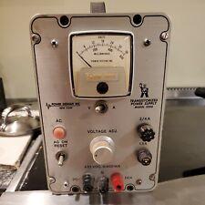 Vintage Power Designs Transistorized Model 3206 Power Supply 1 32v Dc Usa