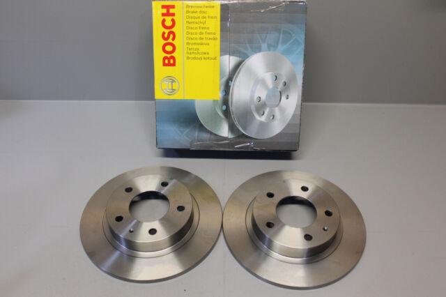 2x Disco de Freno Equipo Bosch 0986478633 Trasero Mazda Ford Ee.uu. Eunos