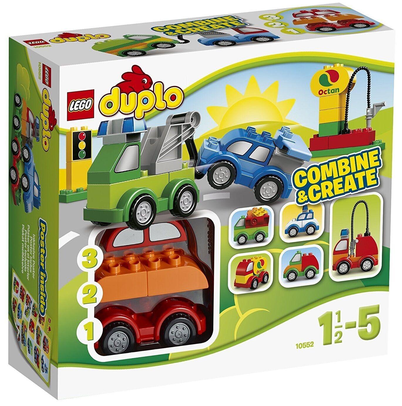 Vehículos Creativos - LEGO DUPLO 10552 - NUEVO