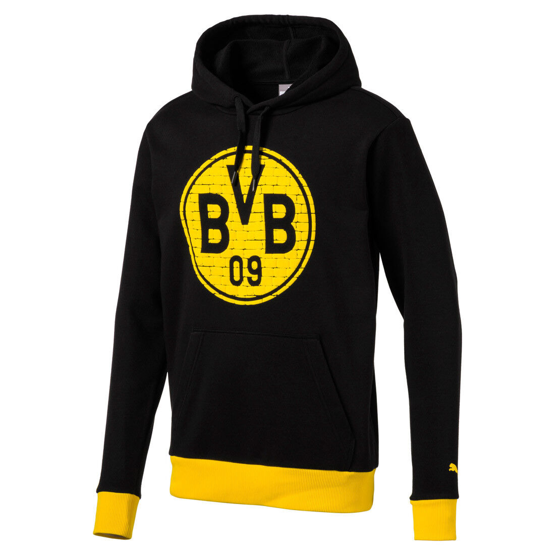 Puma BVB Fan Hoody Borussia Dortmund 09 Herren Sweatshirt 752863 12  | Online-verkauf