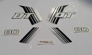 Details About Yamaha Dt 50 80 Mx 1981 To 1984 Stickers Decals Graphics Adesivi Aufkleber