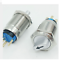19mm 2NO2NC Two Position Maintain LED Stainless steel Selector switch CE,UL,ROHS