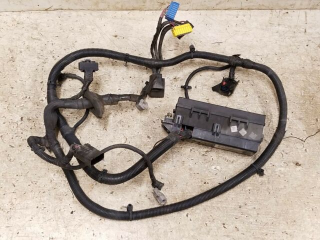 underhood wiring harness 1997 jeep wrangler tj tbi efi 2 5l manual rh ebay com 2001 Jeep Wrangler Wiring Harness Jeep Wiring Harness Diagram